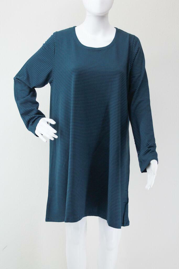 OverTalla  Long túnica turquesa M de cut Loose Berlín Design opaca top plus Talla  marca en liquidación de venta
