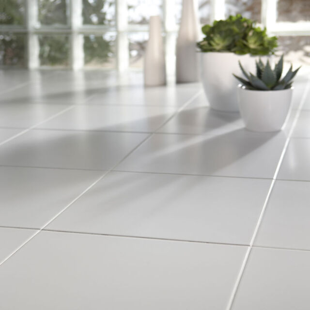 Cheap White Ceramic Floor Tiles 333x333x7mm 3 10 Sqm 11 Sqm Delivery