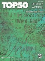 Top 50 Praise And Worship: Easy Piano By Alfred Publishing Staff, (paperback), A