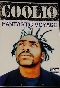 Vintage Tape, COOLIO: FANTASTIC VOYAGE, 1994 Maxi-Single, Hip-Hop, Rap Cassette