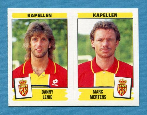 New KAPELLEN FOOTBALL 96 BELGIO Panini Figurina-Sticker n 419