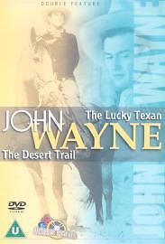 1 of 1 - JOHN WAYNE: The Lucky Texan {1934} & The Desert Trail {1935} - [DVD](2001)......