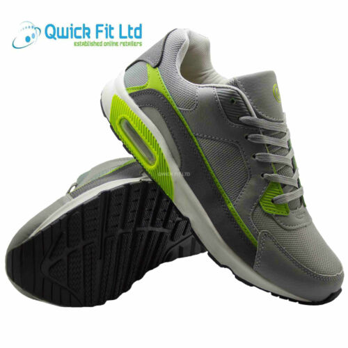 New Mens Running Casual Trainers Fashion Lace Up Gym Walking Sport Shoes Uk Size