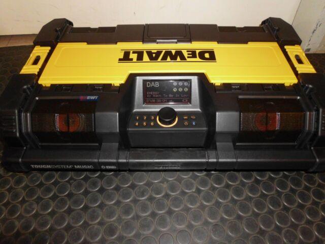 Dewalt Toughbox Radio DWST1-75659 Bluetooth Toughsystem Música DWST1 75659