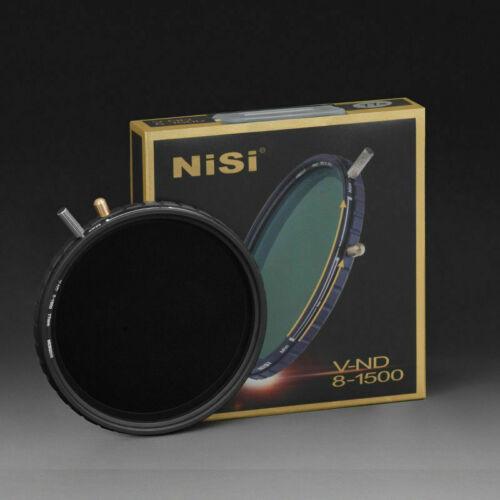 NiSi Adjustable Variable ND Filter 82mm ND8-1500 Fader Circular Neutral Density