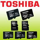 TOSHIBA EXCERIA 32GB 64GB Micro SD XC U3 C10 4K 90MB Card Samsung Kingston lot