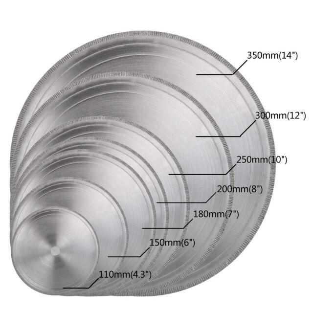 "150mm 6/"" inch THK Diamond segment sintered continuous rim TILE SAW BLADE wheel"