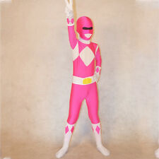 ... children deluxe bodysuit mighty morphin costume power rangers cosplay · power ranger pink ... & Pink Power Ranger Costume For Kids - Best Kids Costumes