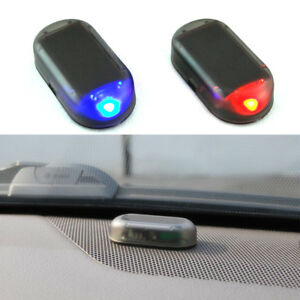 Car solar power led fake dummy alarm warning security anti theft image is loading car solar power led fake dummy alarm warning aloadofball Image collections