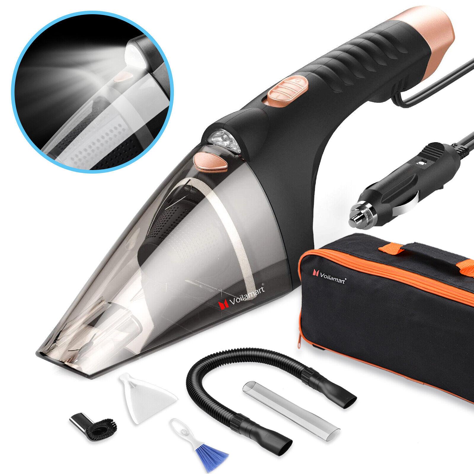 Mini Car Vacuum >> Car Vacuum Cleaner 12v Hand Held Auto Wet Dry Portable Handheld Mini Duster Dirt