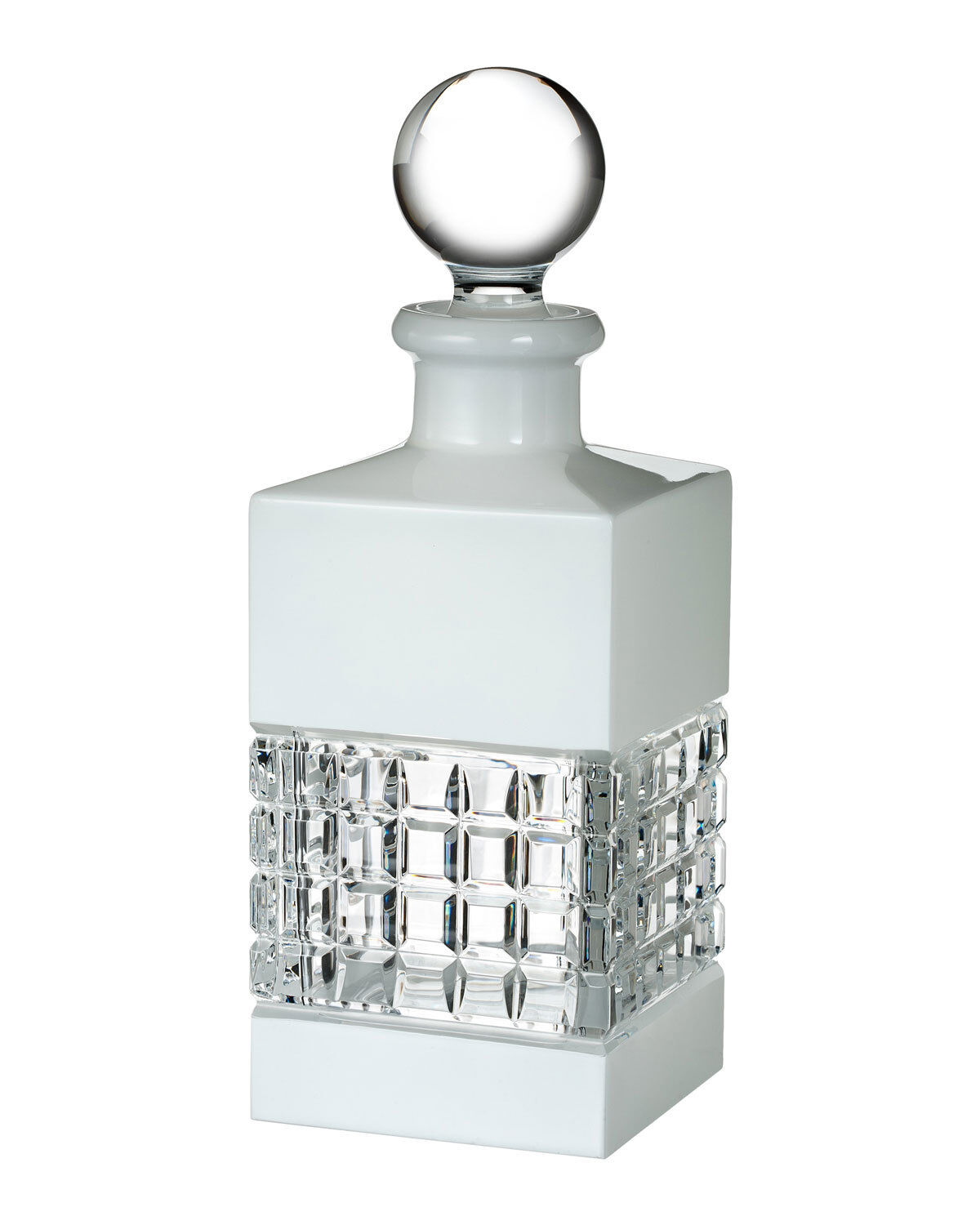Waterford London Square blanc decanter cristal de plomb 25 Oz (environ 708.73 g)  40018769 nouveau