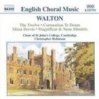 Walton: Choral Music (CD, Feb-2002, Naxos (Distributor))