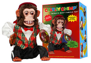 Charley-Chimp-NEW-Cymbal-Banging-Monkey