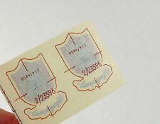 Campagnolo Fork Decal Set Old Shield Logo Of 2 Original sticker Vintage Bike NOS