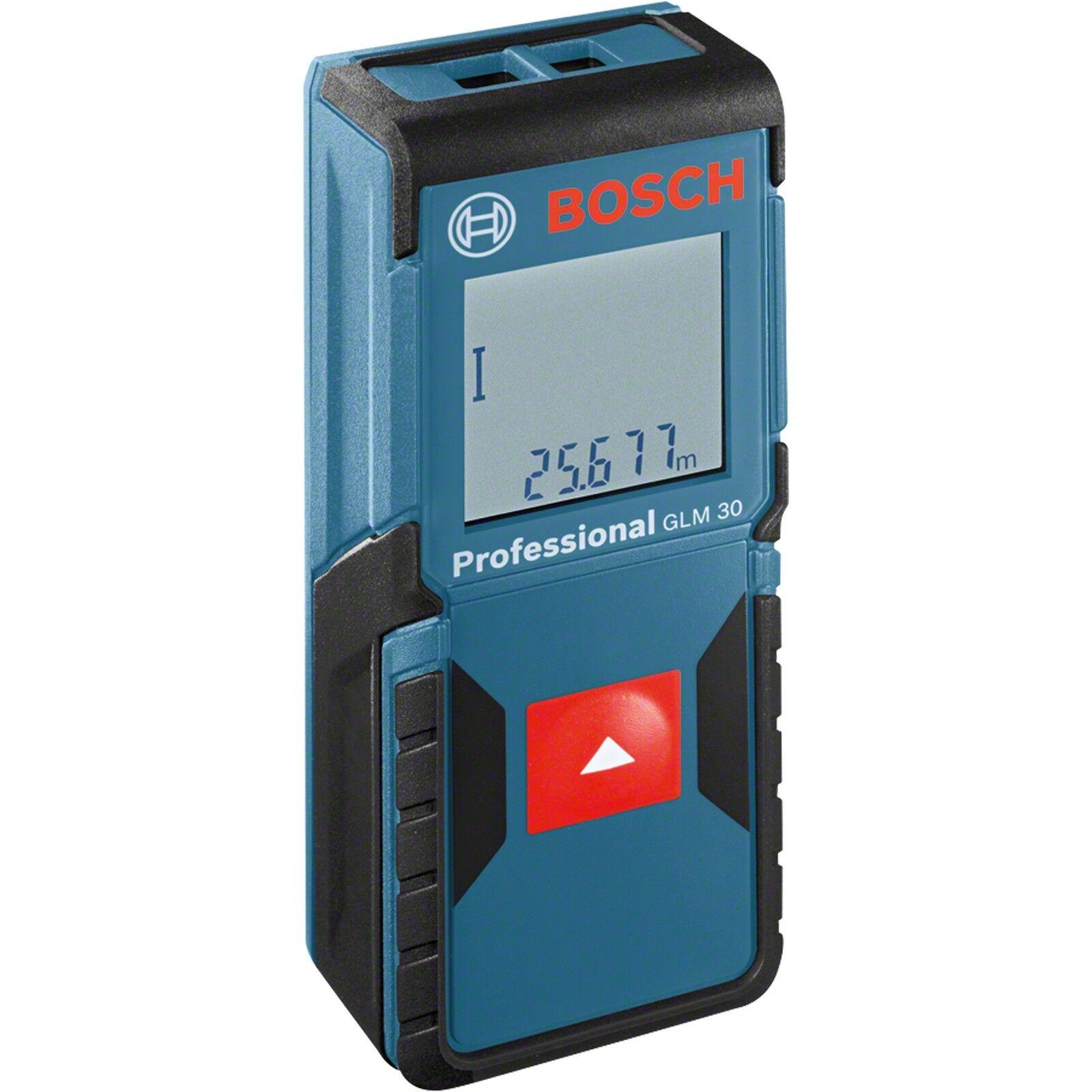 Bosch Professional Laser-Entfernungsmesser GLM 30 Professional, blau