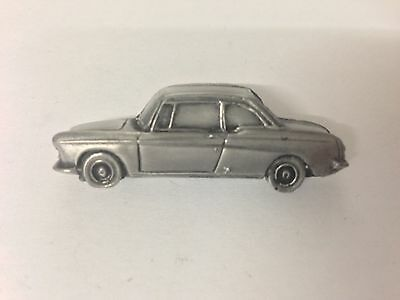 Peugeot 404 Coupe  3D pin badge car pewter effect pin badge  ref176