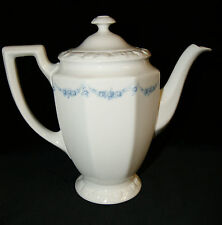 Rosenthal Porzellan Kaffeekanne Kanne Maria Rosenkante blau Geschirr