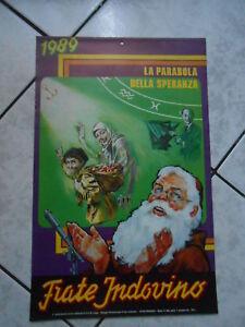 Calendario Frate Indovino Ebay.Dettagli Su Calendario Frate Indovino 1989 La Parabola Della Speranza