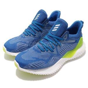 a80fc2c8d adidas Alphabounce Beyond J Blue White Kid Junior Running Shoes ...