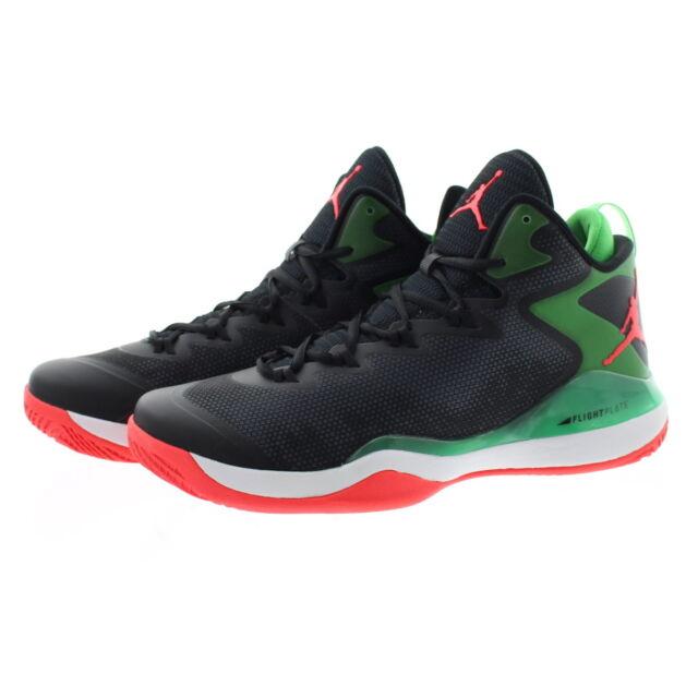 5b87ca54028 Nike Jordan Super.fly 3 Mens 684933-030 Black Green Red Basketball ...