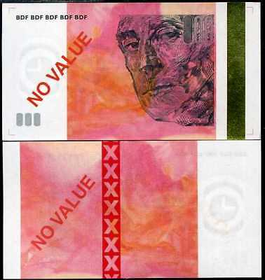 "FRANCE 10 EURO TEST NOTES /""BDF/"" GOLD STRIP UNC SEE SCAN"