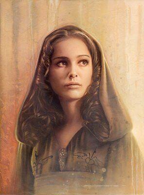 Star Wars Queen Amidala Poster Padme Amidala Picture Watercolor Art Print Star Wars Fans art gift Decor