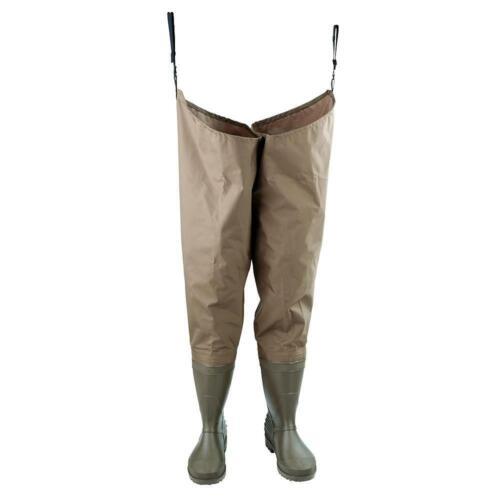 Hodgman Inc Mackenzie Nylon//PVC Cleated Hip Bootfoot MACKHBC12 12//Brown