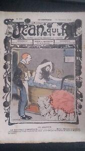 Rivista Jeans Che Rit N° 409 1908 Giornale Illustre che Appaiono Il Venerdì ABE