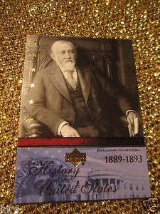 Benjamin-Harrison-1889-US-United-States-President-Upper-Deck-Card