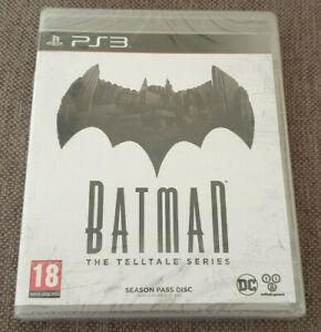 Sony-Playstation-3-PS3-Gioco-Batman-dell-039-eloquente-SERIE-Season-Pass-Disco-NUOVO