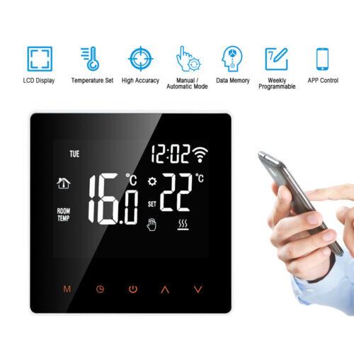 Termostato intelligente Termoregolatore digitale Display LCD Screen D5H2