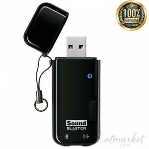 Sound-Blaster-X-Fi-Go-Pro-r2-Creative-USB-audio-interface-SB-XFI-GPR2-from-JAPAN
