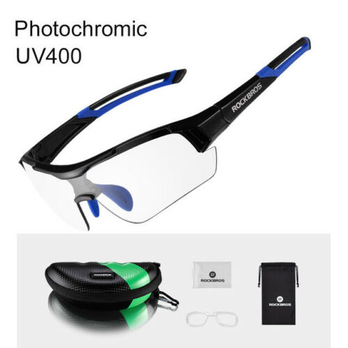 SPORT CICLISMO BICI RockBros Photochromatic Occhiali UV400 Occhiali da sole
