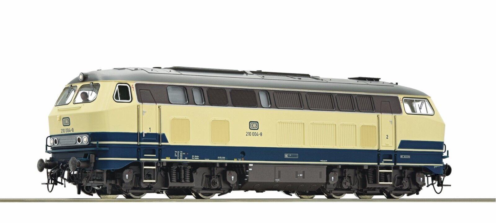 ROCO 73736 Diesellok 210 004-8 Beige T DB Ep IV