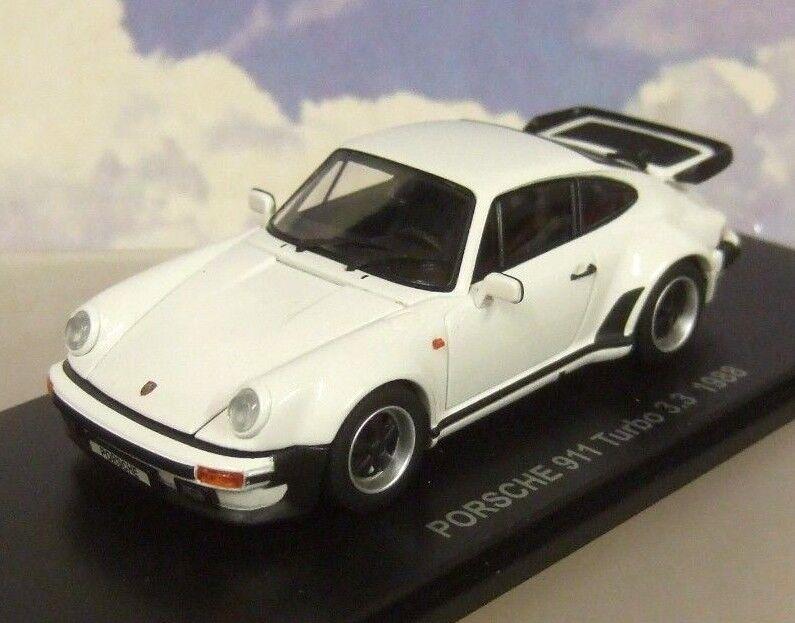 Kyosho 1 43 Moulage sous Pression 1988 Porsche 911 Turbo 3.3 Blanc avec