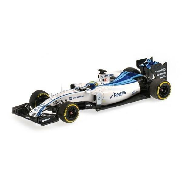 Minichamps Williams Williams Williams Martini Racing Mercedes FW37  19 1:43 417150119 d8c550