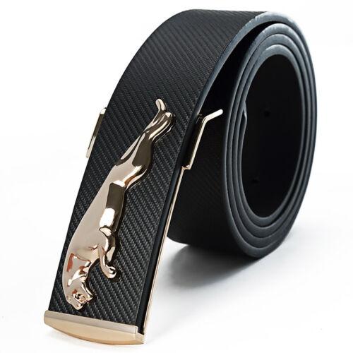 """Mode Hommes Luxe JAGUAR designer boucle de ceinture 35 /"""" 49/"""" différentes couleurs"""