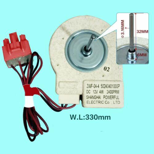 Fan Motor for Midea Refrigerator BCD-330WTV Freezing ZWF-02-4 Universal Type New