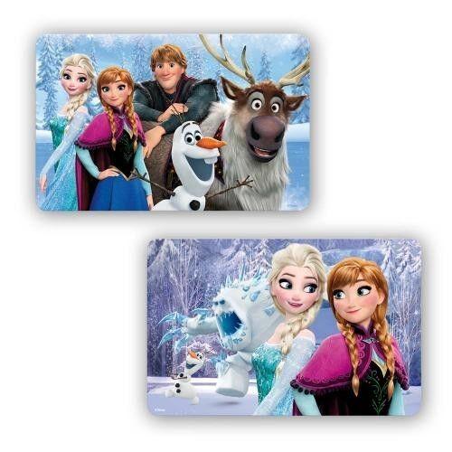 Neu /& OVP Frozen 3D Platzdeckchen III 2 Motive
