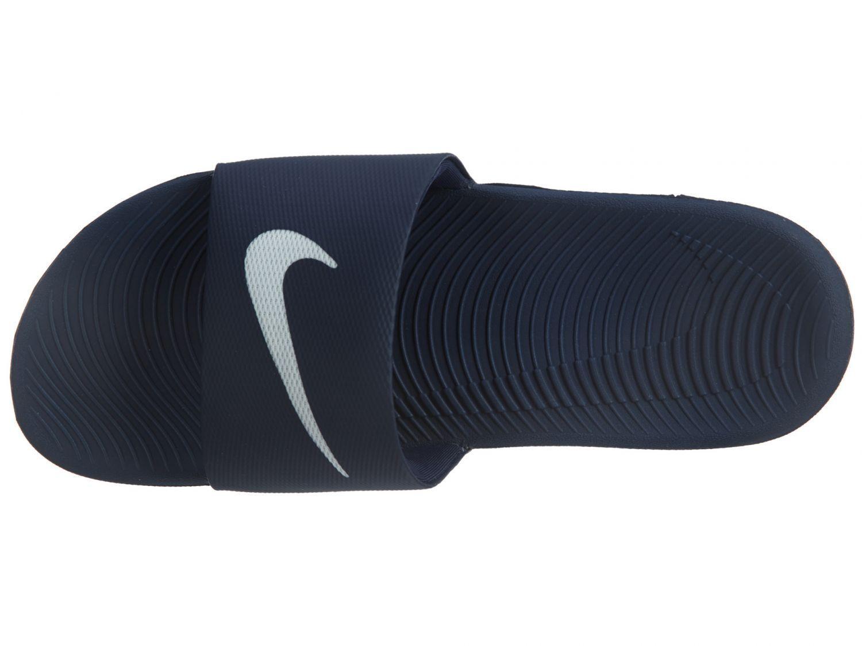2a54b0d23 New Nike Kawa Slide 832646-400 Midnight Blue Blue Blue Men 583c54 ...