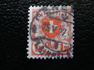 Switzerland-Stamp-Yvert-and-Tellier-N-209-Obl-A9-Stamp-Switzerland