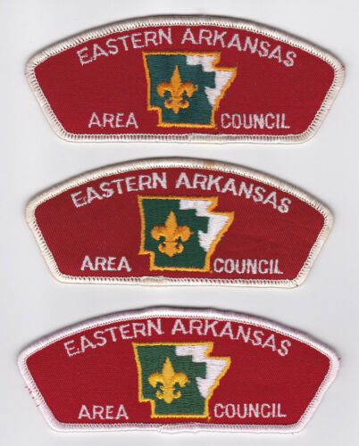 USA BOY SCOUTS OF AMERICA EASTERN ARKANSAS AREA SCOUT COUNCIL SHOULDER PATCH