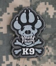 K-9 TACTICAL COMBAT ISAF DOGS OF WAR OEF OIF BADGE K9 MORALE MILITARY PATCH