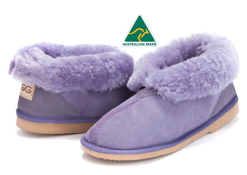 Damen Premium Australian Sheepskin Ugg Hausschuhe Knöchelhöhe - 13 Farben