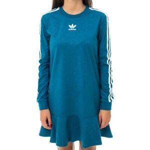 VESTITO-DONNA-ADIDAS-TEE-DRESS-EC1911-DRESS-WOMAN-Blu