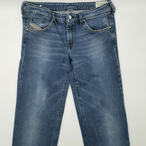 Diesel YBO Wash 008LA_Stretch W30 L32 blau Damen Designer Denim Jeans Hose Retro