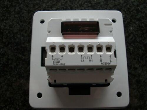 Régulateur thermostat programmable d/'énergie #792 de chauffage réduire