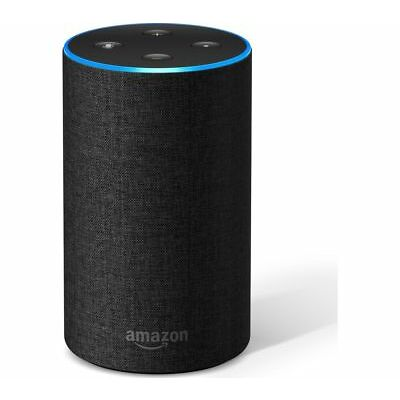 AMAZON Echo - Charcoal Fabric - Compatible with iOS / Android / Windows