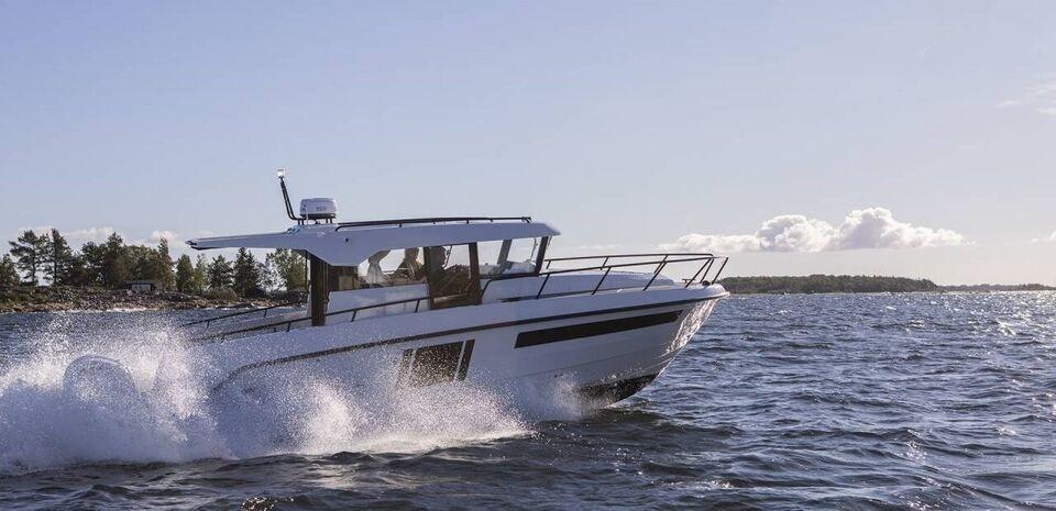 Finnmaster Pilot 8 - 2 X F150 Yamaha/Udstyr, Motorbåd, årg.