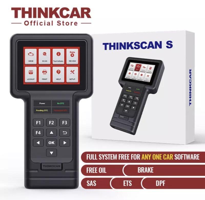 THINKCAR Thinkscan S99 OBD2 Diagnostic Tool Auto DIY OBD2 Full System Code Reader